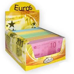 Billets de banque en bonbon