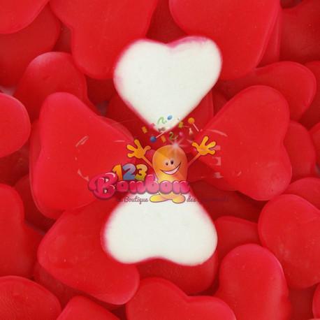 Coeur gélifié bitexturé fraise