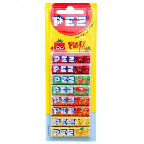 Recharge de PEZ fruits
