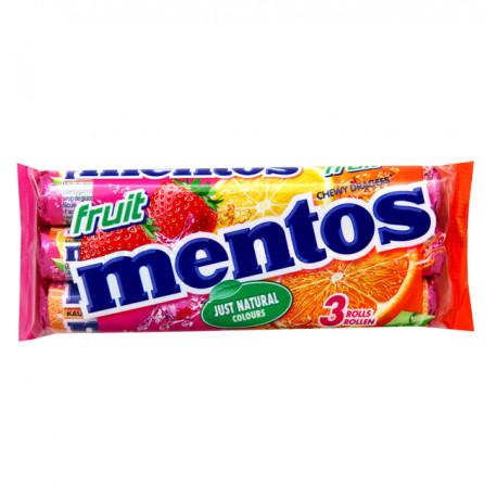 Mentos Fruits par 3