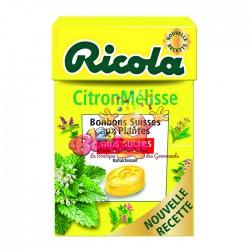Ricola Citron & Mélisse - DLUO 30/04/18