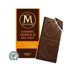 Tablette MAGNUM  Chocolat & Caramel