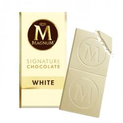 Tablette MAGNUM  Chocolat Blanc