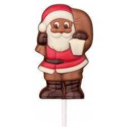 Sucette père noël hotte chocolat