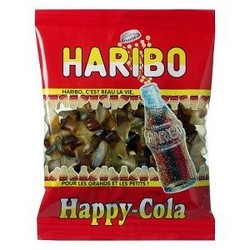 Happy Cola Haribo 120 g