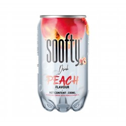 Soofty Drink - Pêche * 1achetée - 1Offerte *