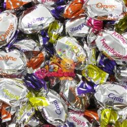 Bonbons fourrés arômes fruits