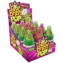 Big baby pop acidulé - mega sour