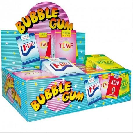 Cigarette stick bubble gum