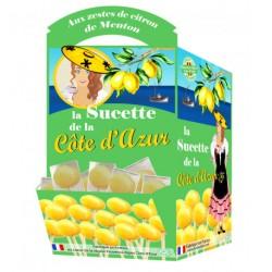 Sucette aux citrons de Menton