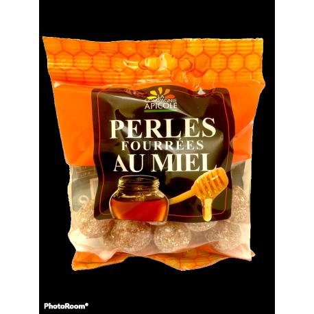 Perles fourrées au miel