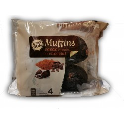 Muffins Cacao 8 x 300g