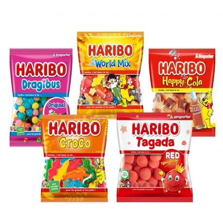 PACK HARIBO 5 SACHETS 120G