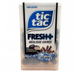 Tic Tac Fresh + Réglisse Givrée