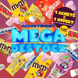 Assortiment MEGA DESTOCK