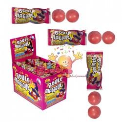 Boules magiques fruits rouges