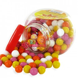 Billes de Chewing Gum en pot 580g