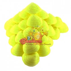 Balle de golf banane jaune