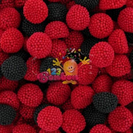 Mûres rouges et noires