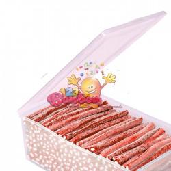 Batons acides fraise