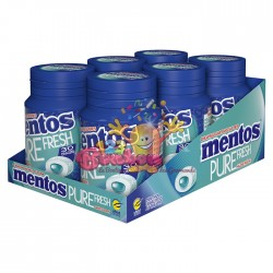 Mentos Pure Fresh Menthol Thé Vert x6